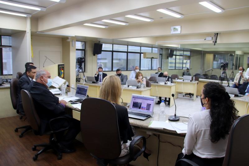 """O governo de Criciúma mandou à Câmara de Vereadores o projeto de revisão salarial """"zero"""" para servidores municipais. – Foto: Câmara Municipal Criciúma"""