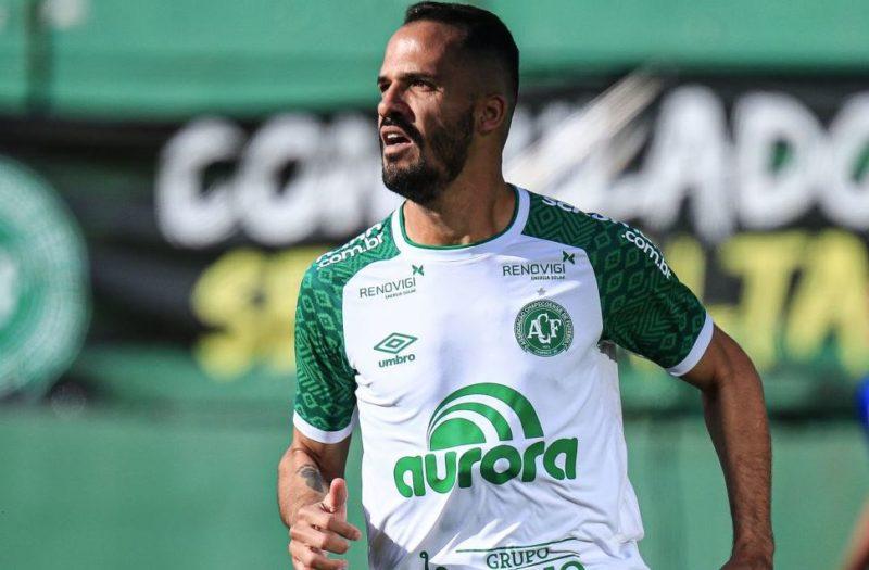 Anselmo Ramon é a esperança de gols para a Chapecoense. – Foto: Márcio Cunha / ACF