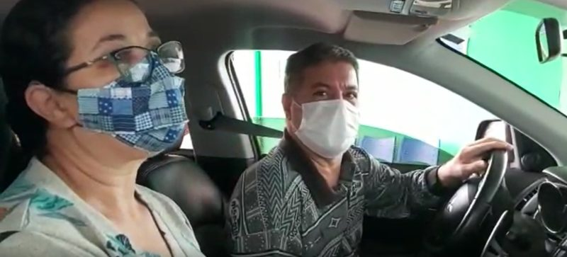 Carlos Alberto Ferreira ficou 21 dias internado na UPA Leste e foi liberado no dia 4 de abril – Foto: Kelly Borges/NDTV