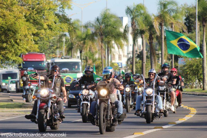 Manifestação pró-Bolsonaro em Criciúma – Foto: Eduardo Shaucoski/Divulgação