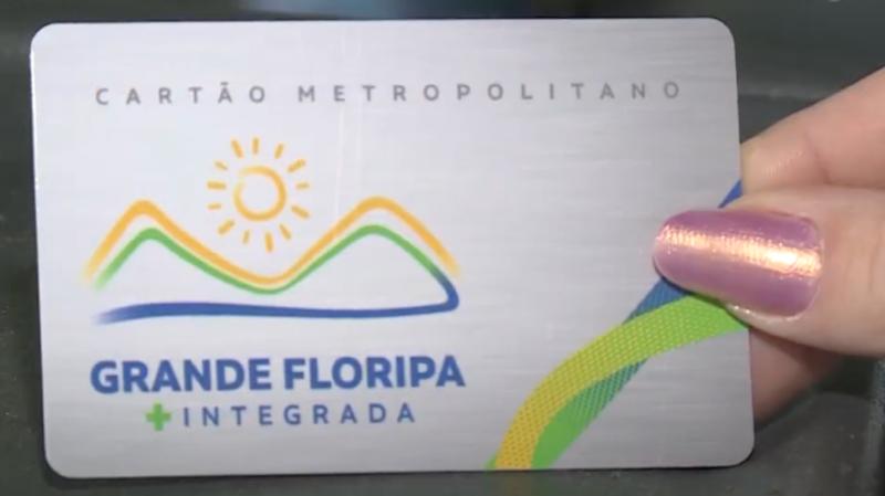 'Grande Floripa Mais Integrada' começou a ser utilizado pelos usuários da Biguaçu Transportes Coletivos – Foto: Reprodução/NDTV RecordTV
