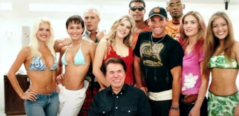 Casa onde o reality show foi gravado era vizinha a de Silvio Santos – Foto: Divulgação/SBT