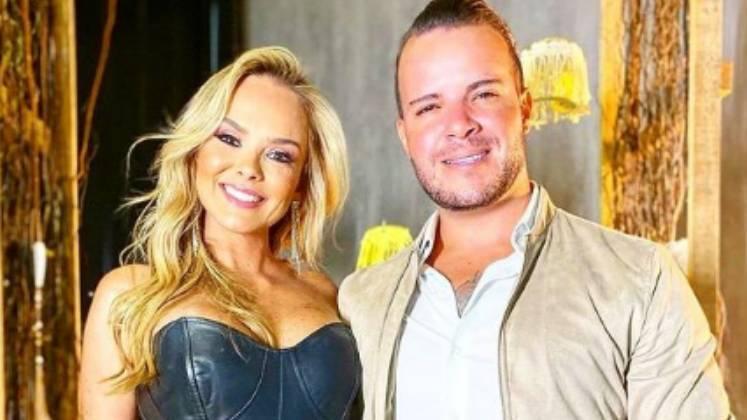 O cantor Filipe Duarte revelou que vai realizar o sonho da esposa Nina Cachoeira, modelo e digital influencer, e de toda a família, participando do reality – Foto: Reprodução/R7/Divulgação/ND