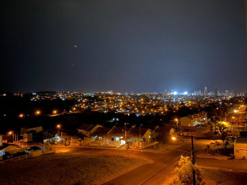 Tempestade começa a se aproximar de Chapecó – Foto: Willian Ricardo/ND