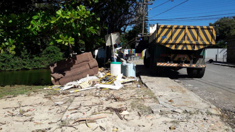 Coleta de de resíduos volumosos em Florianópolis agora é mensal – Foto: PMF/Divulgação/ND