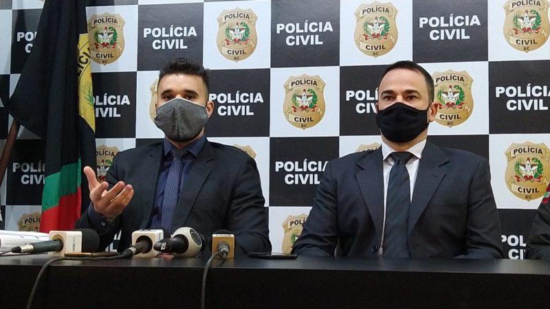 Polícia detalhou a motivação do crime em coletiva nesta quinta-feira – Foto: Caroline Figueiredo/ND