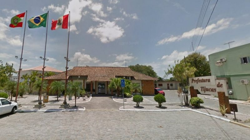 Prefeitura de Tijucas, na Grande Florianópolis – Foto: Google Street View/Google/divulgação
