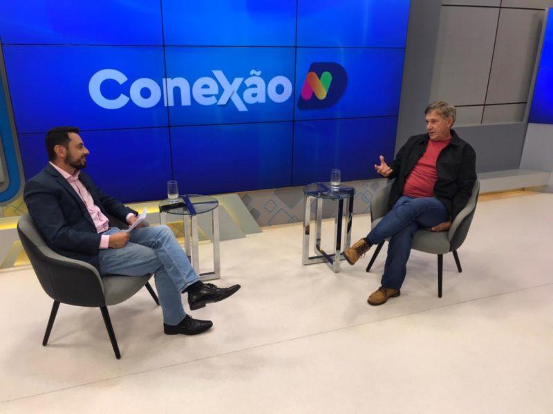 Alexandre Mendonça recebe historiador no Conexão ND desta quarta-feira – Foto: Reprodução/NDTV