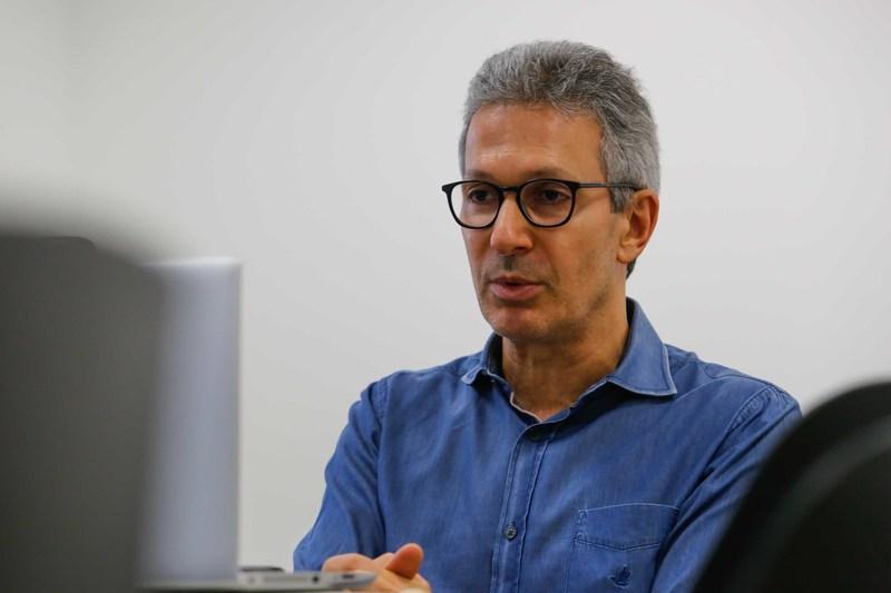 Governador Romeu Zema, de Minas Gerais