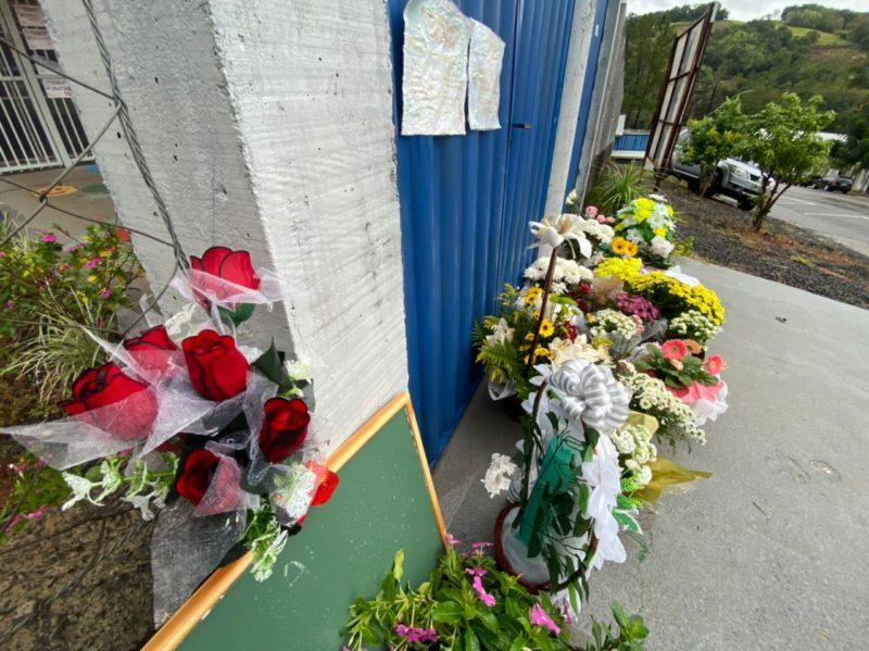 Creche foi alvo de ataque no dia 4 de maio – Foto: Willian Ricardo/ND