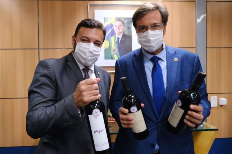 Agenda do Ministro Gilson Machado foi articulada pelo deputado Daniel Freitas – Foto: Divulgação/Assessoria
