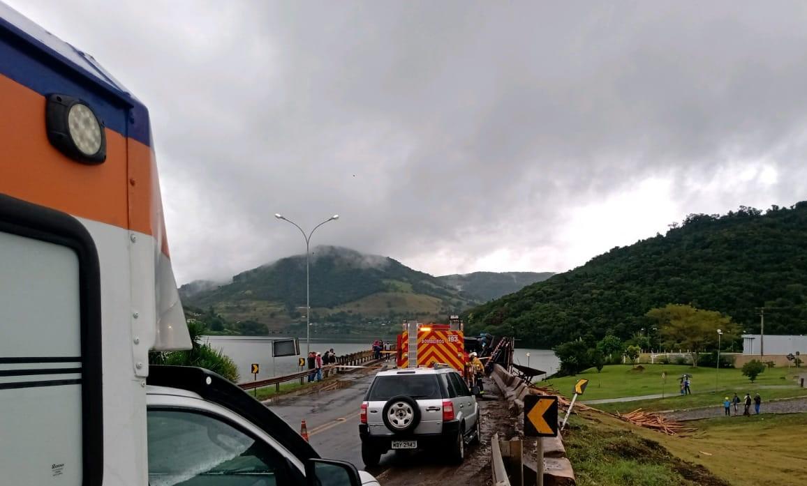Ocorrência foi atendida na tarde desta quinta-feira (6). - Defesa Civil/Divulgação