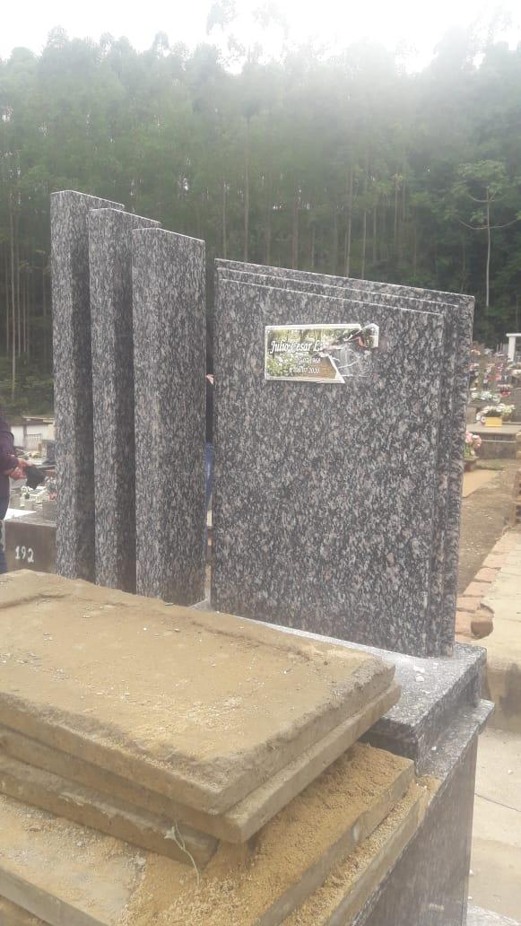 Homem estava enterrado há 10 meses - Divulgação/PM José Boiteux/ND