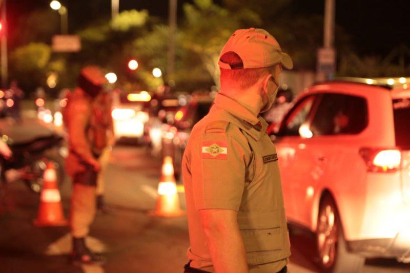 Comando da Polícia Militar de Santa Catarina emitiu nota sobre vacinação contra Covid-19 – Foto: Divulgação/PMSC/ND