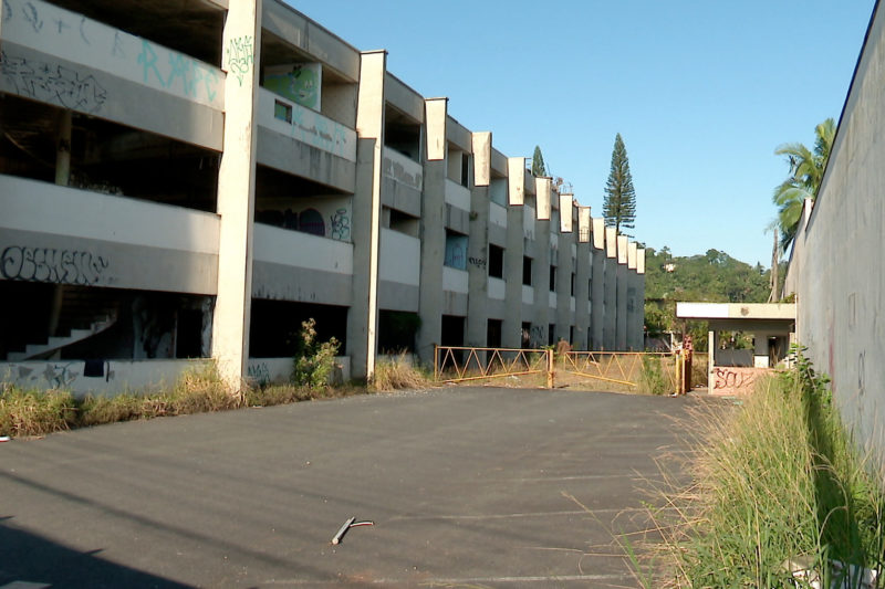 Bens da antiga empresa Glória, em Blumenau, serão leiloados – Foto: Reprodução/NDTV Blumenau
