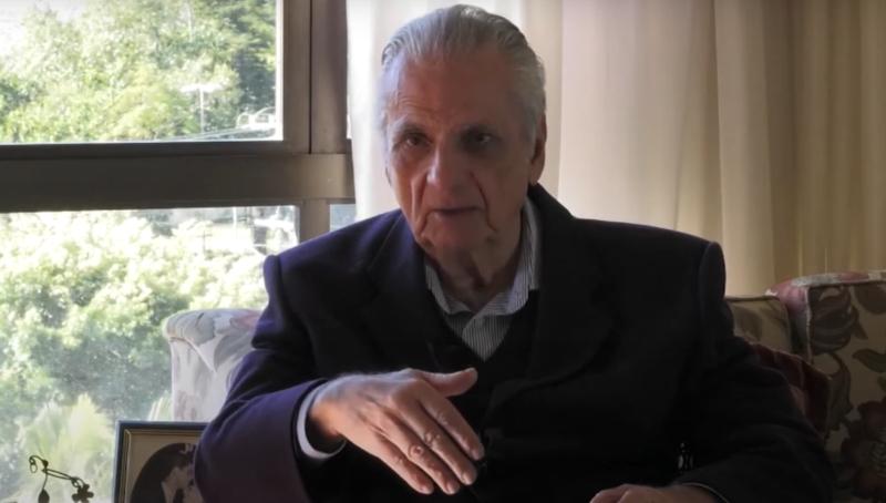 Morre jornalista Estácio Ramos – Foto: Reprodução/YouTube assembleiasc