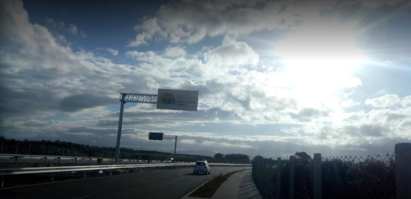 Justiça determina novas ações sobre acesso ao novo aeroporto de Florianópolis – Foto: Reprodução/Google