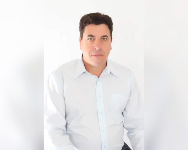 Ex-vereador Anilto Sarturi morreu aos 59 anos no Hospital Regional do Oeste, vítima da Covid-19 – Foto: Arquivo pessoal/Divulgação ND