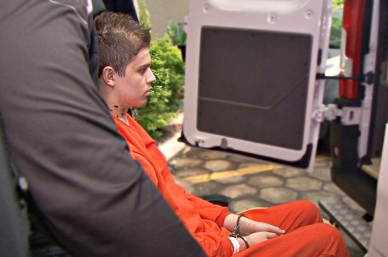 Acusado da chacina de Saudades será ouvido presencialmente pelo juiz — Foto: Roberto Bortolanza/NDTV/ND