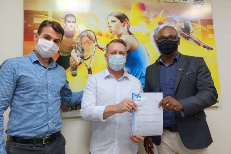 Timbó candidata-se oficialmente para sediar os Jasc 2021 – Foto: Antonio Prado/Fesporte