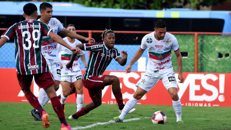 Fluminense ficou no 1 a 1 com a Portuguesa – Foto: Mailson Santana/Fluminense FC/ND