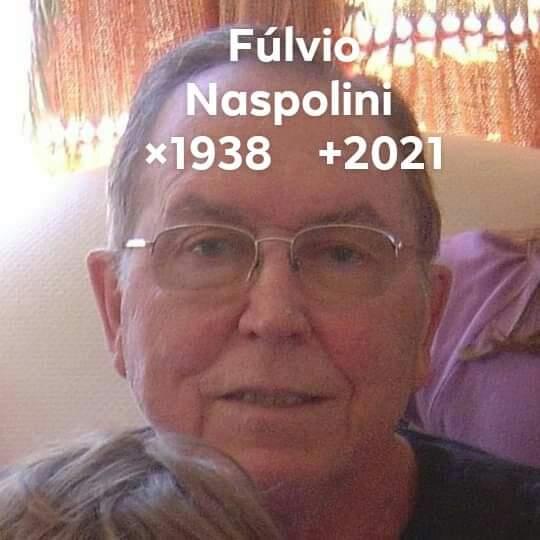 Fúlvio era pai da jornalista Suzana Naspolini – Foto: Nei Manique