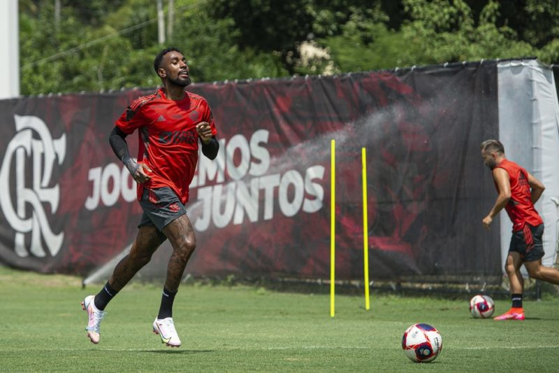 Gérson pode deixar o Flamengo – Foto: Alexandre Vidal / Flamengo