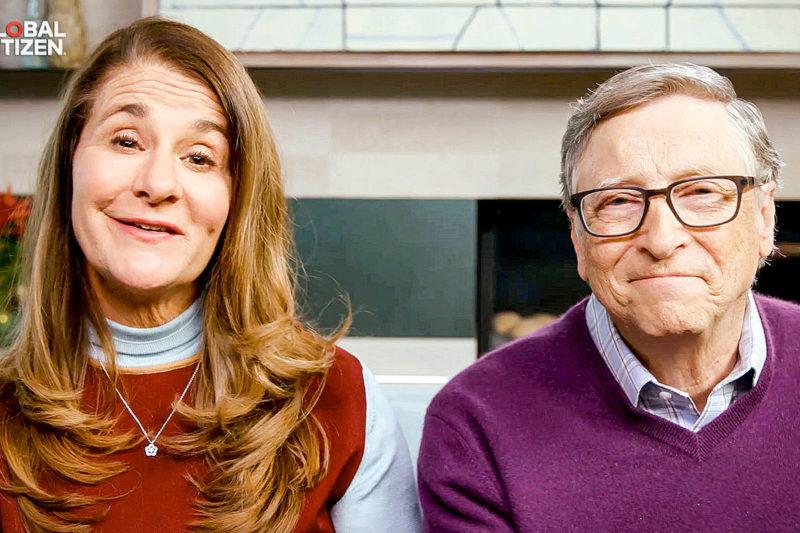 Melinda e Bill GATES – Foto: Global Citizen/Getty Images