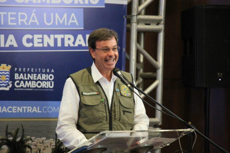 Ministro do Turismo, Gilson Machado, visitou Balneário Camboriú – Foto: Secom BC/Divulgação