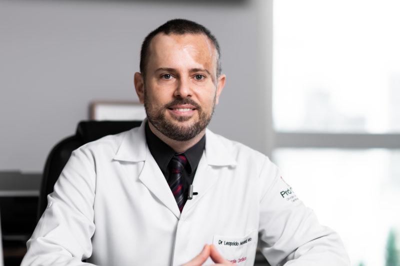 Dr. Leopoldo Moratelli Neto, cirurgião cardiovascular – Foto: Heitor Pergher/ND