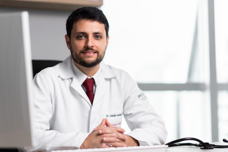 Dr. Lindolfo Moratelli Filho, cirurgião cardiovascular – Foto: Heitor Pergher/ND