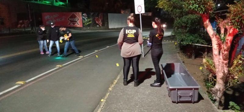 Homem é morto com pelo menos 10 golpes de facão em Concórdia – Foto: Atual FM/Divulgação ND