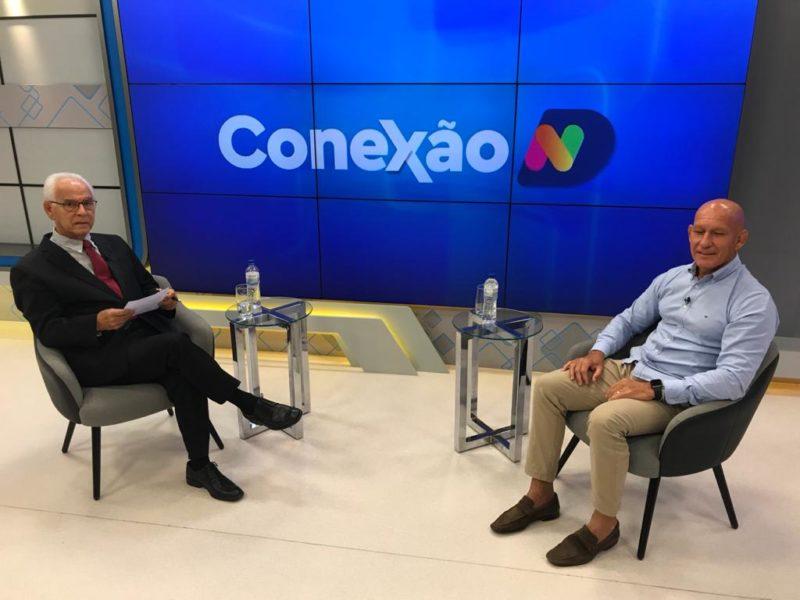 Moacir Pereira comanda o bate-papo desta segunda-feira – Foto: Reprodução/NDTV