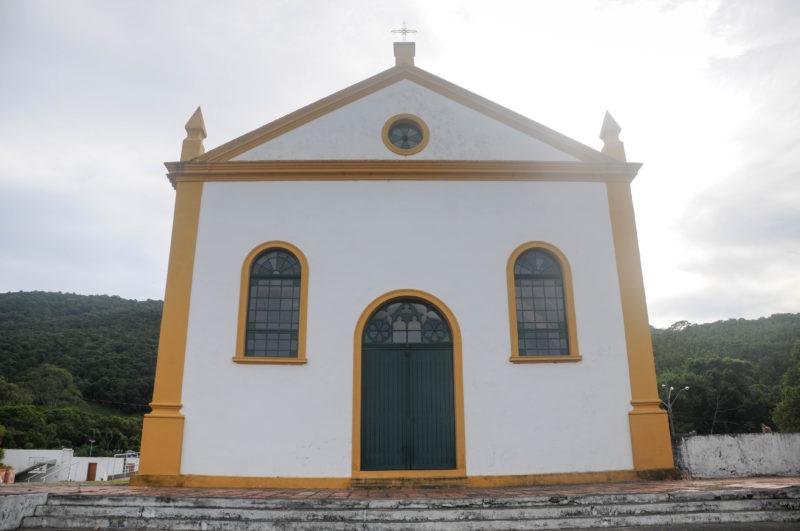 Igreja de São Miguel do Arcanjo foi construída nos primórdios da ocupação da cidade – Foto: Leo Munhoz/ND