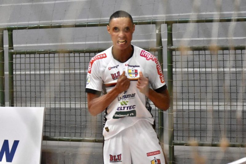 Blumenau vence Marreco na Liga Nacional 2021 – Foto: Sávio James Pereira/Blumenau Futsal