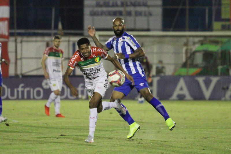 Na semifinal do Estadual deu Avaí: 1 a 0 – Foto: Lucas Gabriel Cardoso/Brusque FC/ND