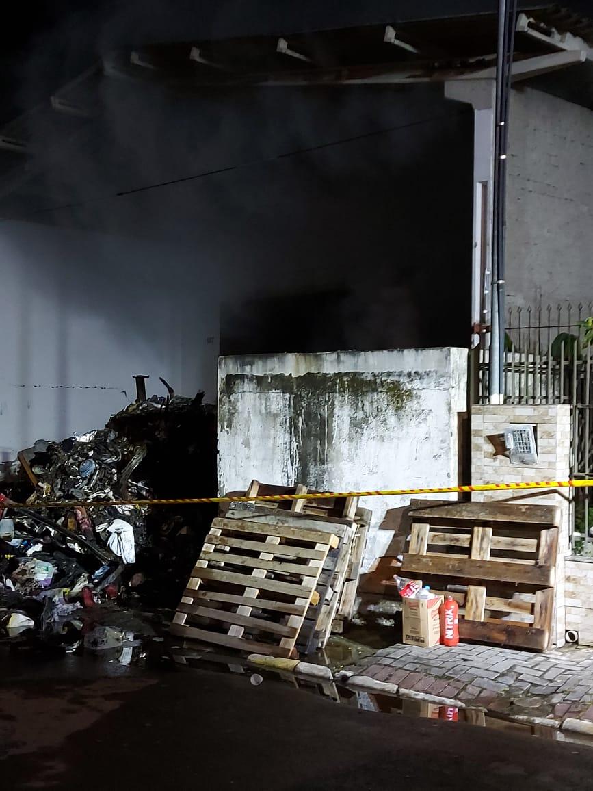 Ninguém se feriu - Corpo de Bombeiros Militar/Divulgação