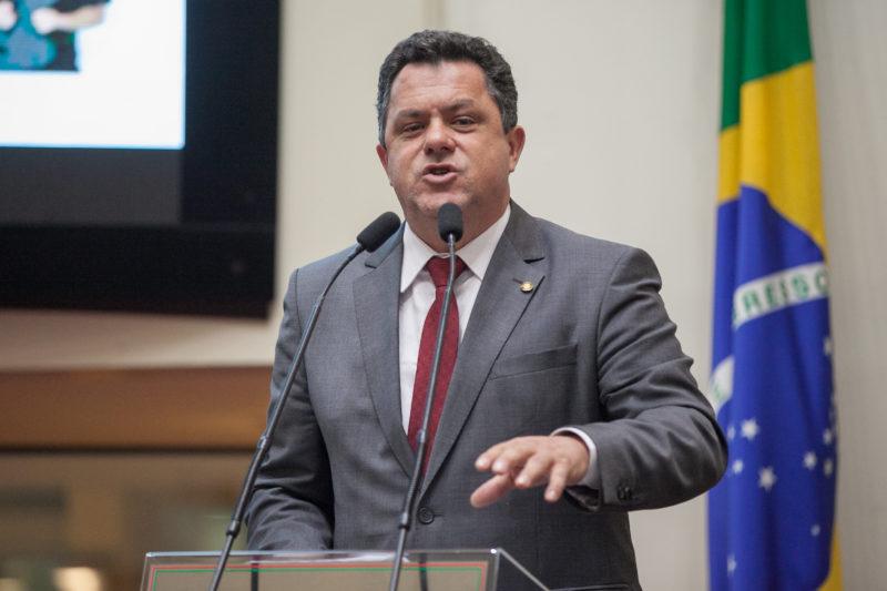 Deputado Ivan Naatz é o líder do PlL e da oposição na Assembleia – Foto: Rodolfo Espínola / Agência AL/ND