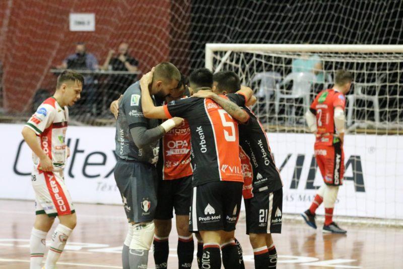 Sem o Centreventos Cau Hansen, JEC Futsal mais uma vez vive o problema de não ter ginásio em Joinville – Foto: Juliano Schmidt/JEC/Krona/