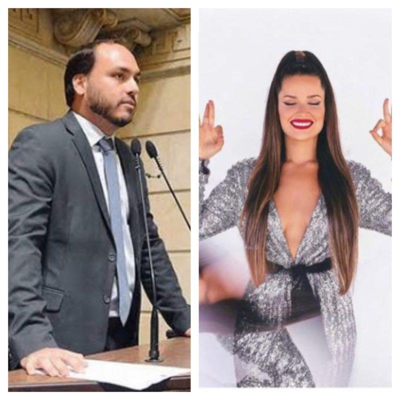 Carlos Bolsonaro acusa Juliette de fazer gesto racista – Foto: Instagram/Reprodução