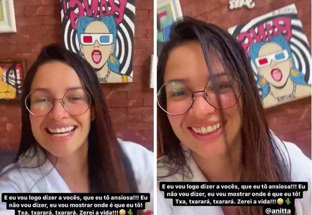 Juliette está hospedada na casa de Anitta – Foto: Reprodução/Instagram