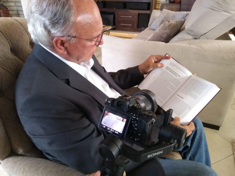 Luiz Alberto Silveira, idealizador do projeto e do livro Retratos: Pandemia 2020