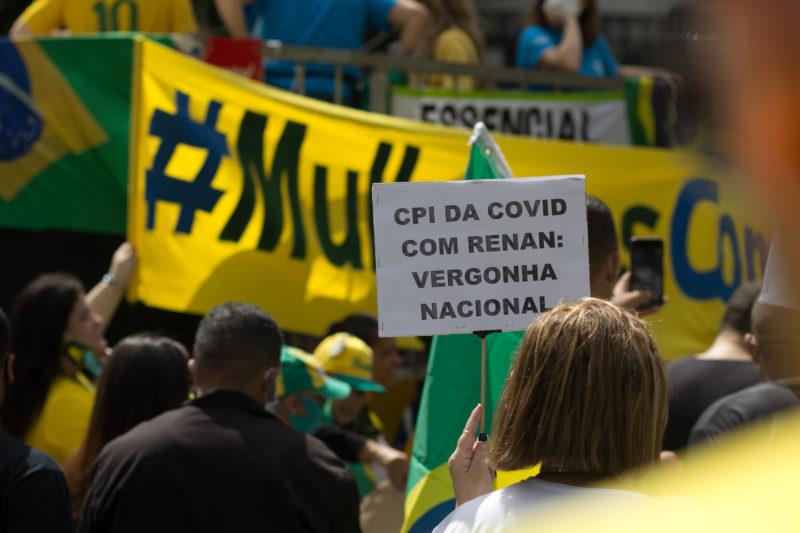 Participantes questionam a escolha de Calheiros como relator da CPI da Covid – Foto: Telmo Ferreira/Estadão Conteúdo/ND