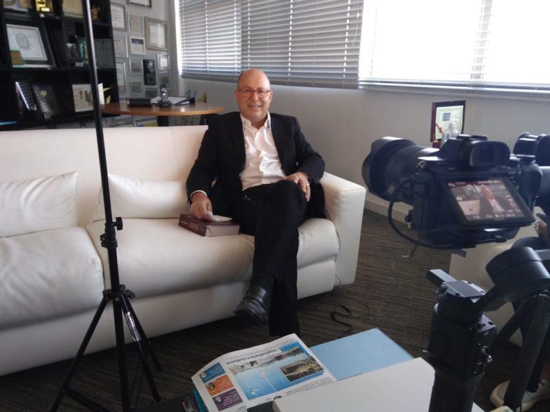 Marcello Petrelli é entrevistado para a Série Retratos: Pandemia 2020