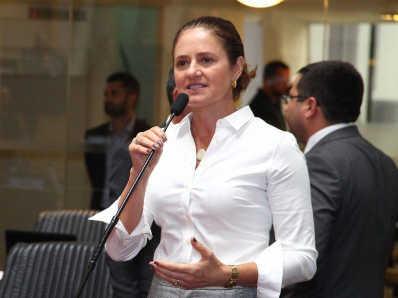 Deputada Marlene Fengler, do PSD, é presidente da Comissão de Direitos da Criança e do Adolescente – Foto: Solon Soares/Agência Alesc