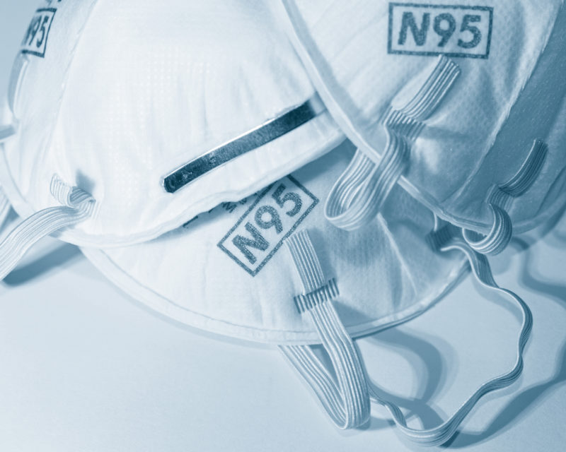 Máscaras PFF2 são a melhor opção se estiverem disponíveis – iStockphoto/Divulgação/ND