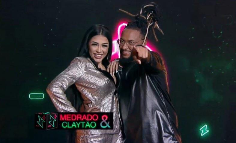 Power Couple: Medrado e DJ Claytão voltaram para entrar no reality – Foto: R7/Divulgação/ND