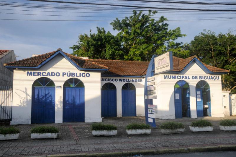 Mercado Público de Biguaçu é referência entre os pontos tradicionais da cidade – Foto: Leo Munhoz/ND