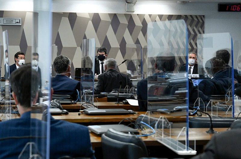 CPI da Covid no Senado – Foto: Leopoldo Silva/Agência Senado