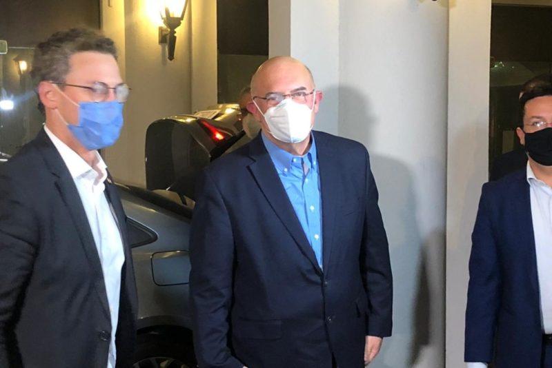 Ministro da Educação, Milton Ribeiro, chega a Blumenau – Foto: Gabriela Milanezi/NDTV Blumenau